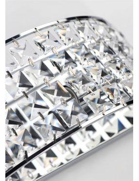LAMPA ŚCIENNA KINKIET CANDELLUX LORDS 21-37909  E14 CHROM
