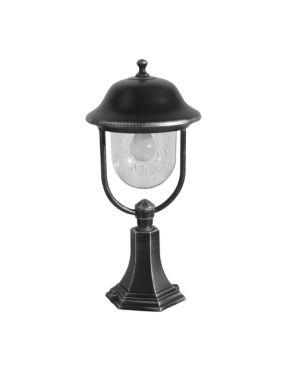 Princes lampa stojąca czarna  55 cm