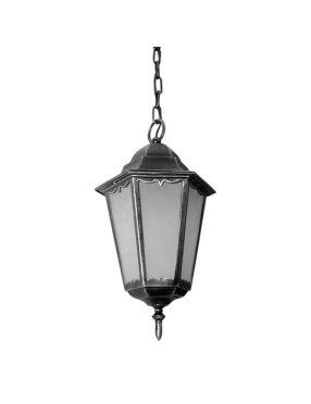 Retro clas II lampa wisząca czarna