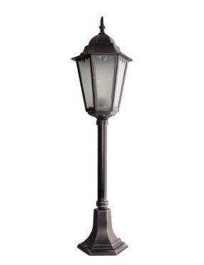 Retro clas II lampa stojąca czarna 83 cm