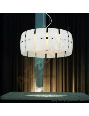 MD 2050-4W Lampa wisząca Taurus White