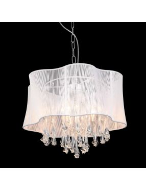 Cali lampa wisząca biała duża