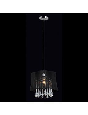 Cali lampa wisząca czarna mała