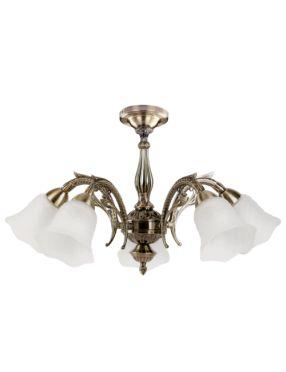 Konsta- krótka  lampa wisząca 5pł