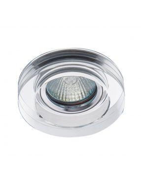 Oczko szklane OH49 clear okrągłe