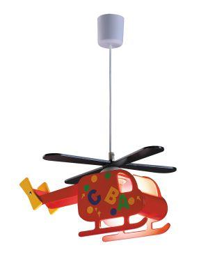 Lampa wisząca dziecięca Helikopter