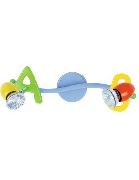 Lampa dziecięca ABC listwa 2pł
