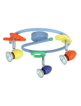 Lampa dziecięca ABC spirala 3pł