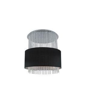 Lampa wisząca Glamour czarna