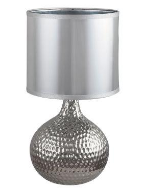 Lampka  nocna Rozina srebrna
