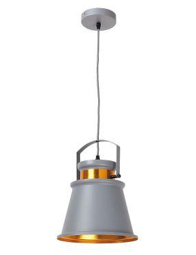 Lampa wisząca metalowa dusan szara