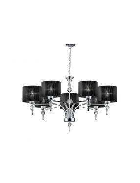 Lampa wisząca Impress 7 czarna Rabaty!!!