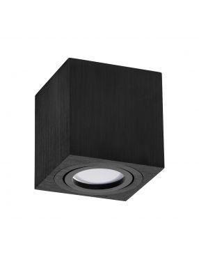 OH 037 Tuba N/T czarna  szczotkowana kwadratowa