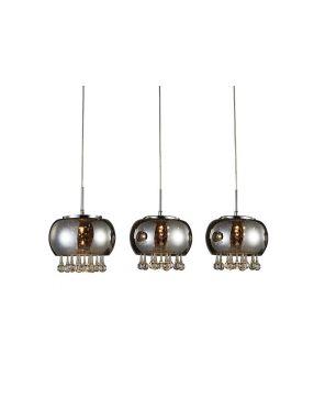 LP5204-3P Burn line lampa wisząca 3 Azzardo  Rabaty!!!