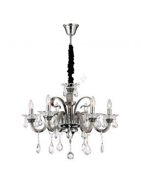 Rabaty!!! 64104-6 Dunja lampa kryształowa 6pł  Globo