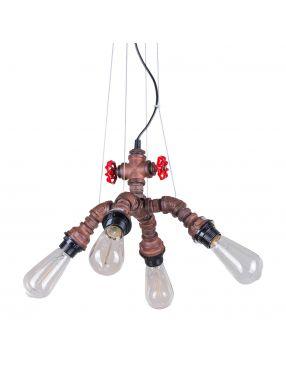 Rabaty!!! MDM-2846/4A RUST lampa loft Italux