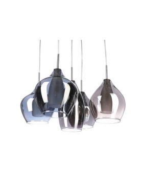 Rabaty!!! 2285-5P Amber Milano lampa wisząca 5 Azzardo