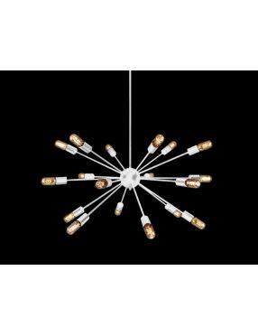 40446-18 WH Orbit lampa wisząca biała gwiazda Azzardo