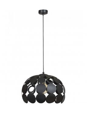 Rabaty!!! 001560 Lampa wisząca kula czarna