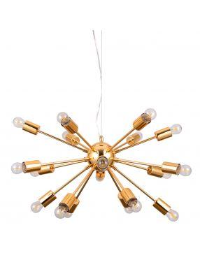 Rabaty!!! AD20000-18  Theo lampa wisząca złota Italux