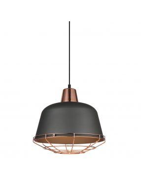 Rabaty!!! MDM-3053/1 GR+COP Annika lampa wisząca Italux