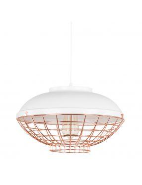 Rabaty!!! MDM-2941/1 W+COP Clams lampa wisząca biała Italux