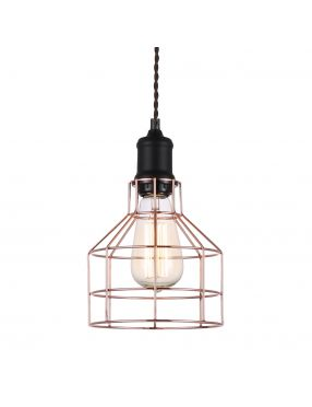 Rabaty!!! MDM-2266/1 BK+COP Perifo lampa wisząca Italux