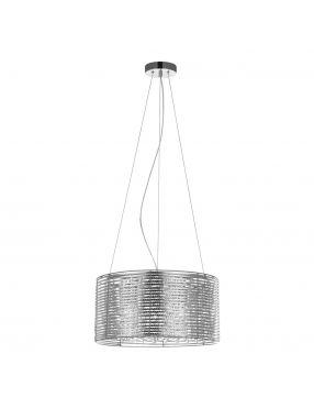 Rabaty!!! Alpio  MDM2131/3 SL lampa wisząca srebrna Italux