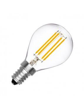 Żarówka filament E-14 kulka 5,5W ciepła LED