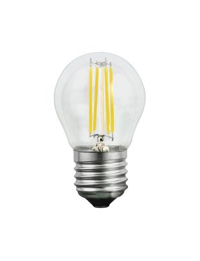 Żarówka filament E-27 kulka 5,5W ciepła LED