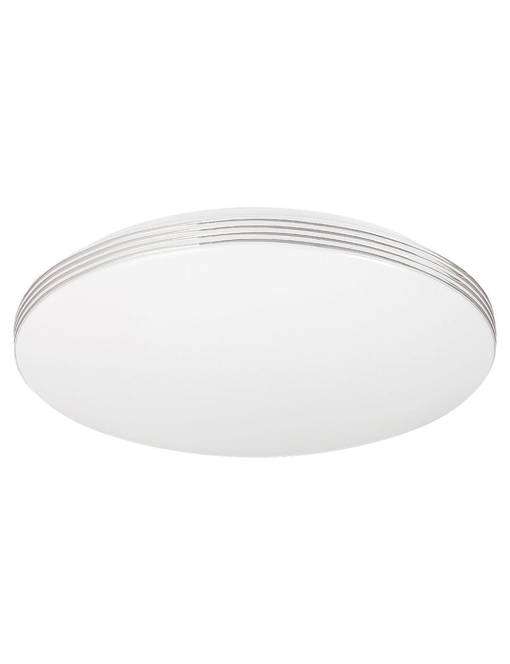 2783 Oscar plafon ledowy okrągły srebrny  Rabalux