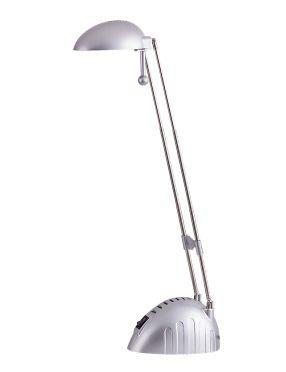 4335  Ronald lampka biurkowa ledowa srebrna Rabalux
