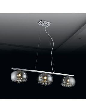 Lampa wisząca nowoczesna szklana belka Rain  Zuma Line