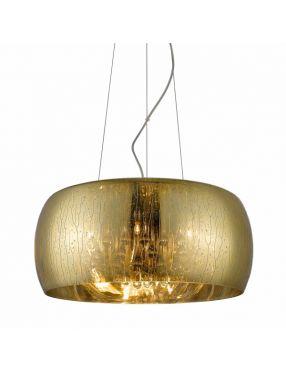 Lampa wisząca nowoczesna szklana złota Rain 50 Zuma Line