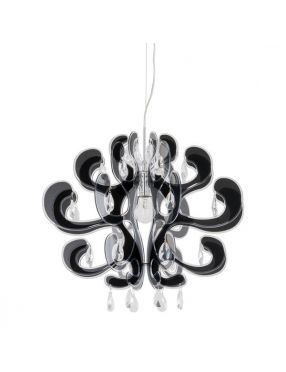 Emporio lampa wisząca czarna