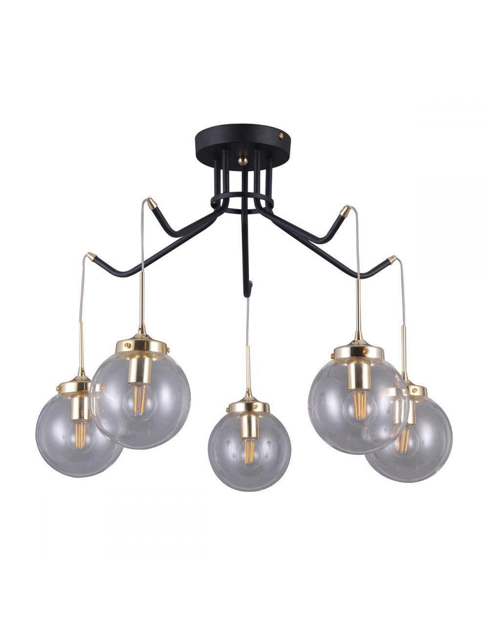 Lampa wisząca industrialna  Domenico 5 Italux PNPL-43232-5