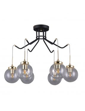 Lampa wisząca industrialna  Domenico 6 Italux PNPL-43232-6