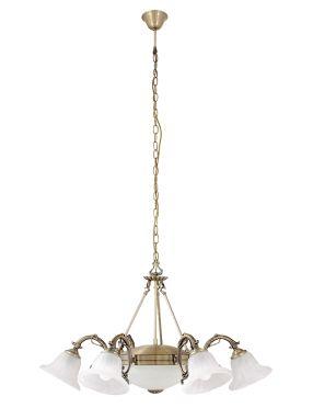 8556 Orchidea lampa wiszaca 6pł Rabalux