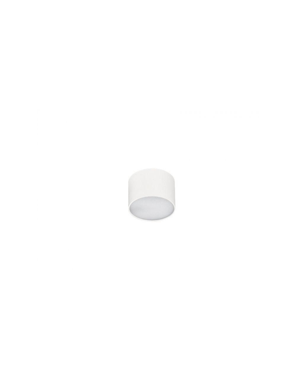 Plafon ledowy tubka Monza R8 4000K biała Azzardo SHR604000-5-WH