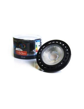 Żarówka LED ES111 BK 15W GU10 DIMM 3000K ciepła Azzardo AZ1499