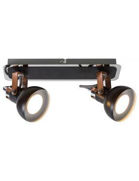 Kinkiet ścienny loftowy industrialny reflektorek spot Balzak 2 Rabalux 5610