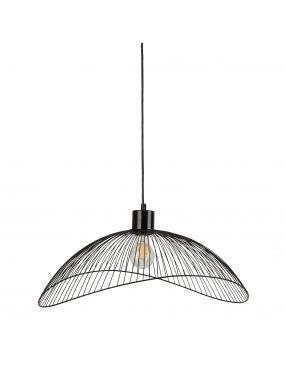 Lampa wisząca pojedyncza metalowa druciaki Nunez Italux PND-1702-1-L-B