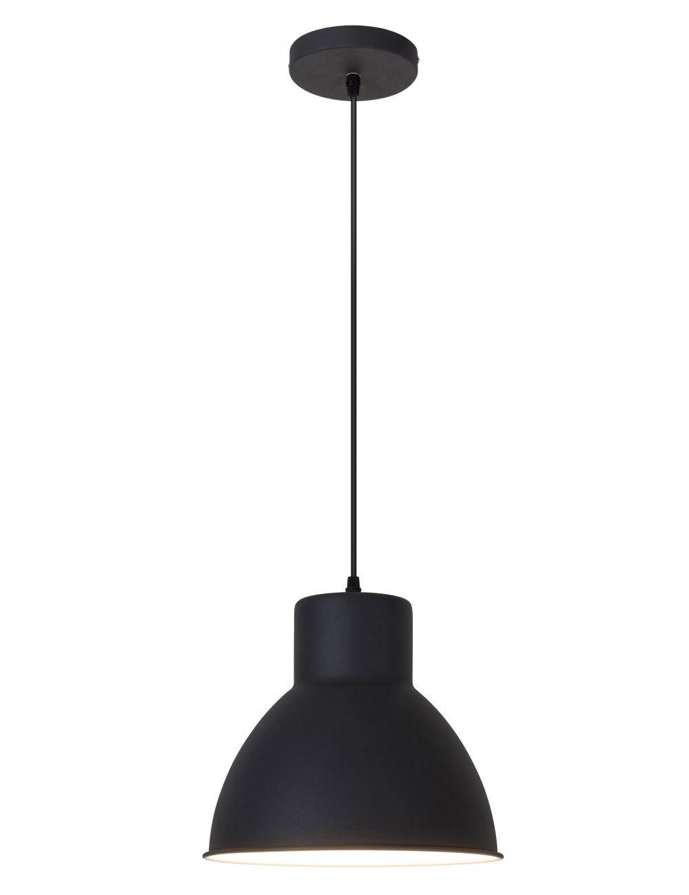 Lampa wisząca metalowa czarna Derek loftowa Rabalux 2578