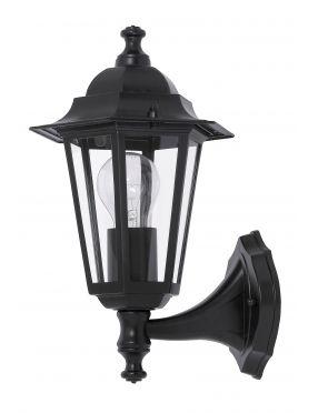 Kinkiet ogrodowy zewnętrzny latarynka czarny Velence Rabalux 8204