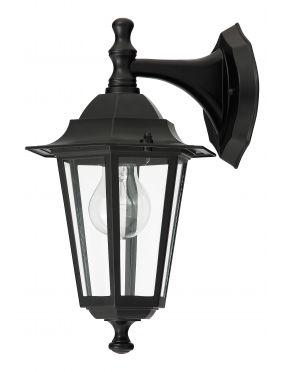 Kinkiet ogrodowy zewnętrzny latarynka czarny Velence Rabalux 8202