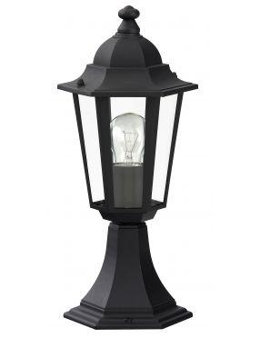 Lampa ogrodowa zewnętrzna stojąca latarynka czarna Velence Rabalux 8206
