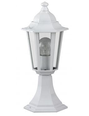 Lampa ogrodowa zewnętrzna stojąca latarynka biała Velence Rabalux 8205