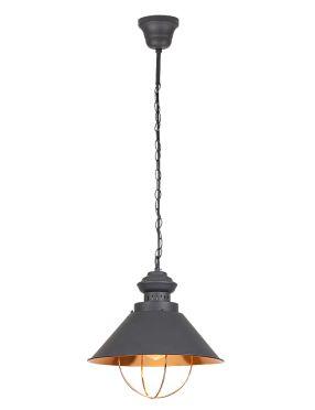 Lampa wisząca pojedyncza metalowa loftowa Gambol   Rabalux 2797