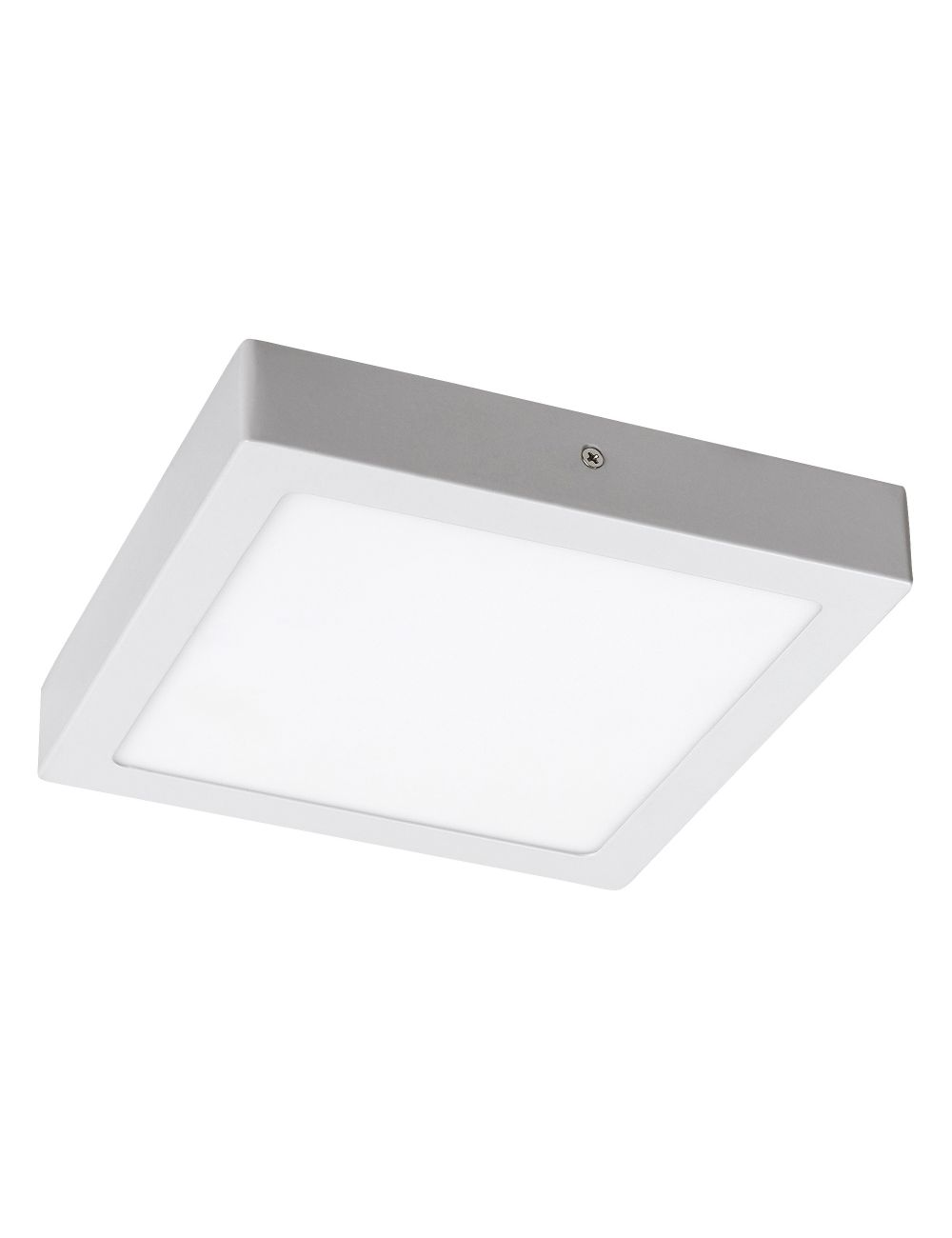 Plafon sufitowy ledowy kwadratowy natynkowy 22 cm Lois biały Rabalux 2664