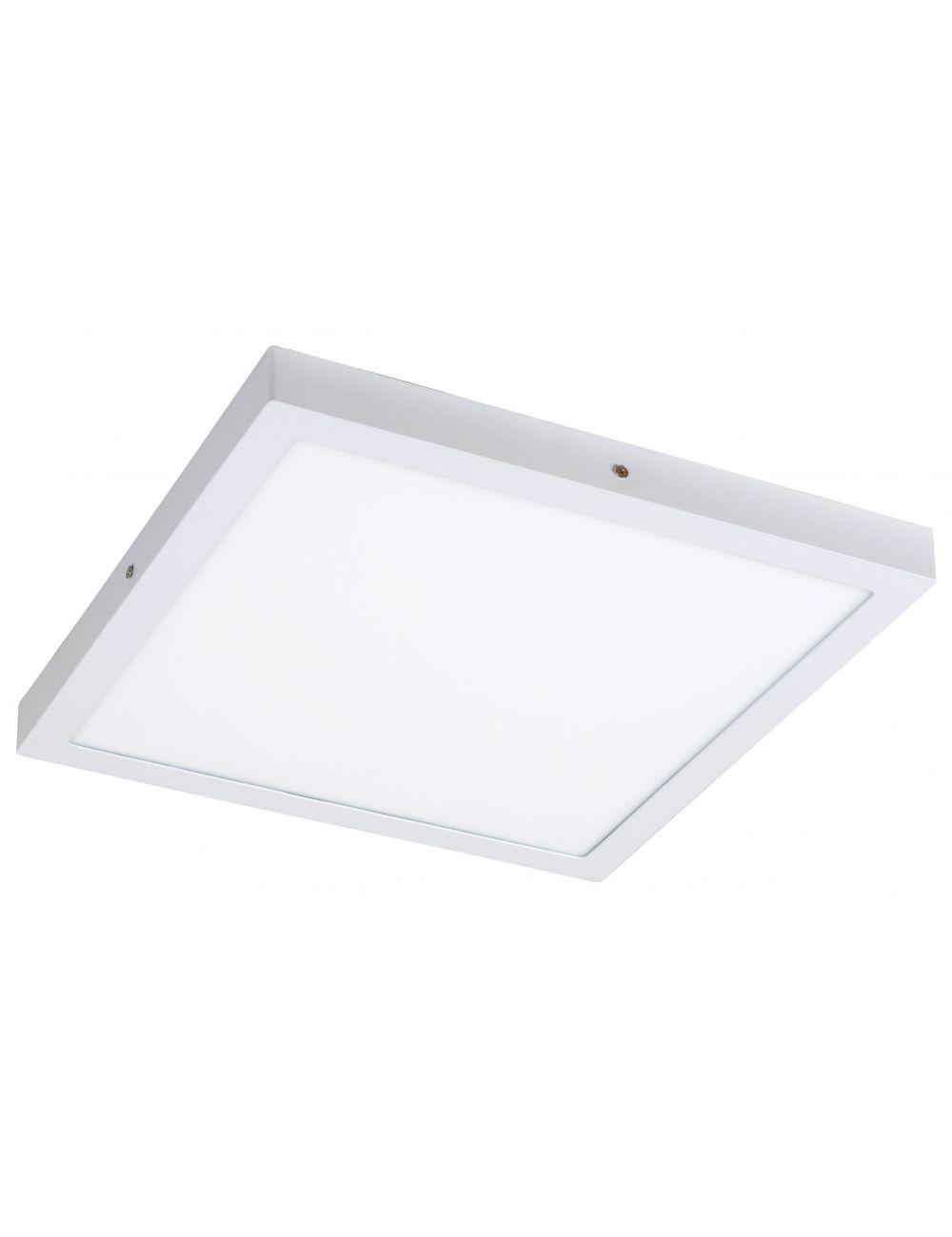 Plafon sufitowy ledowy kwadratowy natynkowy 40 cm Lois biały Rabalux 2666